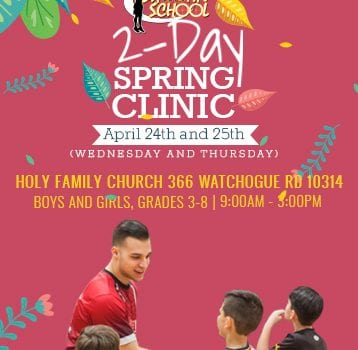 Holy Family 2-Day Spring Clinic