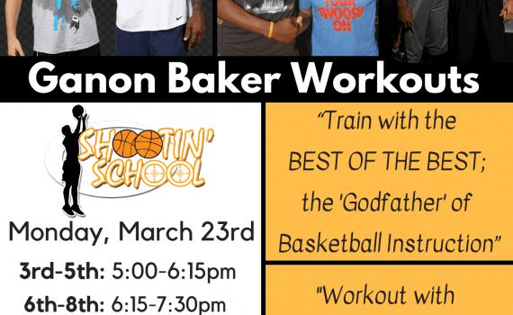 Ganon Baker Workouts
